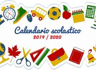 Calendario Ponti 2020.Ecco Il Calendario Scolastico 2019 2020